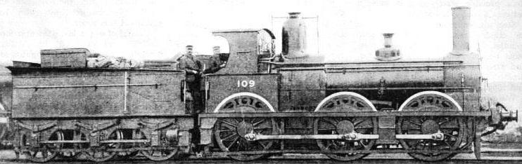 A London and South Western Railway locomotive built in 1869