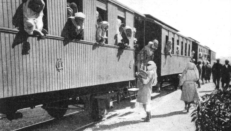 A MILLION NATIVES are carried every year in these fourth-class four-wheeled carriages
