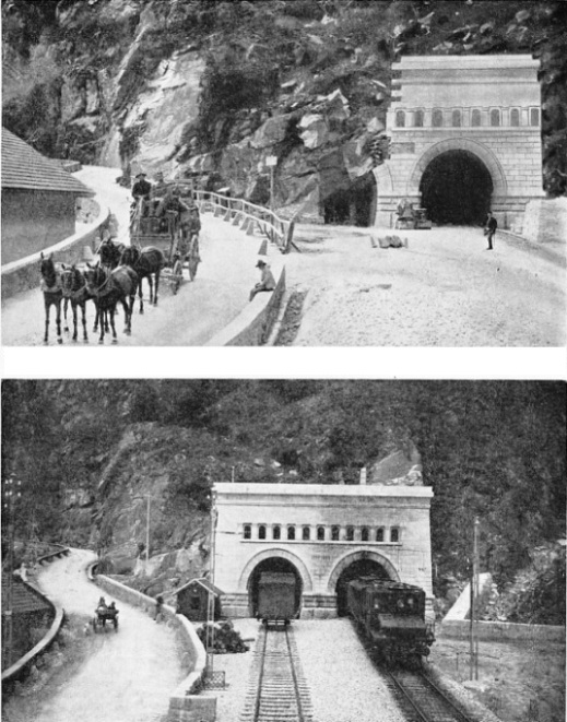 The Simplon Tunnel