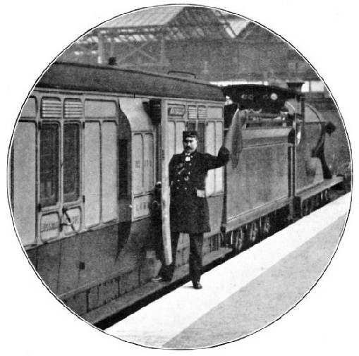 A guard of the London & South Western Railway