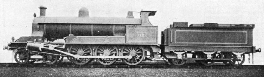 Webb's compound 4-6-0 goods locomotive